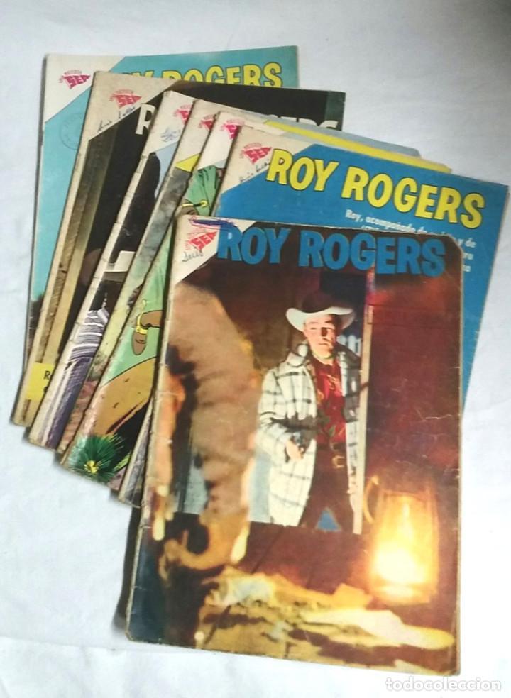 LOTE 4 CÓMICS ROY ROGERS EDITORIAL SEA Nº 69, 96, 115 Y 129 AÑO 1958 (Tebeos y Comics - Novaro - Roy Roger)
