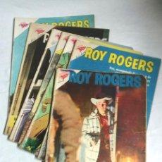 Tebeos: LOTE 4 CÓMICS ROY ROGERS EDITORIAL SEA Nº 69, 96, 115 Y 129 AÑO 1958. Lote 257360445