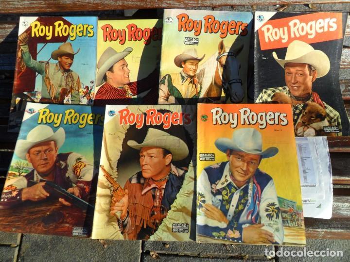 ROY ROGERS NºS 3 Y 12. NOVARO AÑO 1952. TAMBIÉN SUELTOS. MUY DIFÍCILES. (Tebeos y Comics - Novaro - Roy Roger)