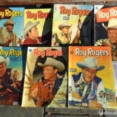 Tebeos: ROY ROGERS NºS 3 Y 12. NOVARO AÑO 1952. TAMBIÉN SUELTOS. MUY DIFÍCILES.. Lote 65749158