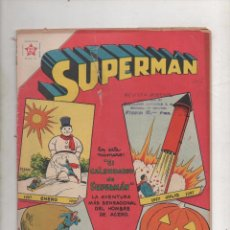Tebeos: SUPERMAN Nº 107 .CON CALENDARIO SUPERMAN 1957. NOVARO.1957.DA. Lote 65911106