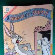 Tebeos: EL CONEJO DE LA SUERTE Nº 254 EDITORIAL NOVARO. Lote 66015642