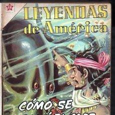 Tebeos: 1 TOMO CON 20 COMICS NOVARO 1958 A 1962 LEYENDAS DE AMERICA COMO SE SALO EL MAR BUEN ESTADO. Lote 66180922
