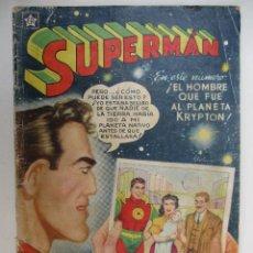 BDs: SUPERMAN Nº 8. REVISTA ORIGINAL DE EDITORIAL NOVARO.. Lote 66812958