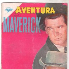 Tebeos: AVENTURA Nº 183 - SEA - NOVARO 1961 - MAVERICK. Lote 66963990