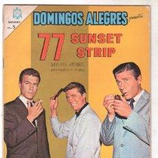 Tebeos: DOMINGOS ALEGRES Nº 545 NOVARO 1964 - 77 SUNSET STRET. Lote 67204241