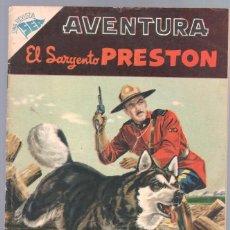 Tebeos: AVENTURA Nº 54 - SEA - NOVARO 1957 - EL SARGENTO PRESTON. Lote 67204617