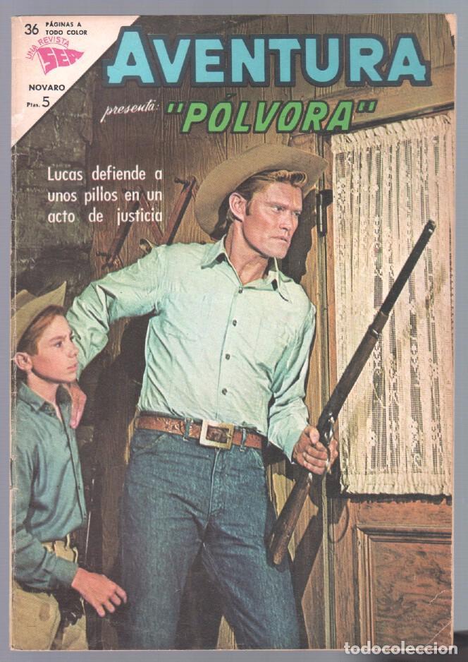 AVENTURA Nº 307 - SEA - NOVARO 1963 - PÓLVORA (Tebeos y Comics - Novaro - Aventura)