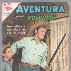 Tebeos: AVENTURA Nº 307 - SEA - NOVARO 1963 - PÓLVORA. Lote 67204781