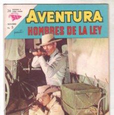 Tebeos: AVENTURA Nº 297 - SEA - NOVARO 1963 - HOMBRES DE LA LEY. Lote 67204969