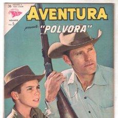 Tebeos: AVENTURA Nº 351 - SEA - NOVARO 1963 - PÓLVORA. Lote 67205273