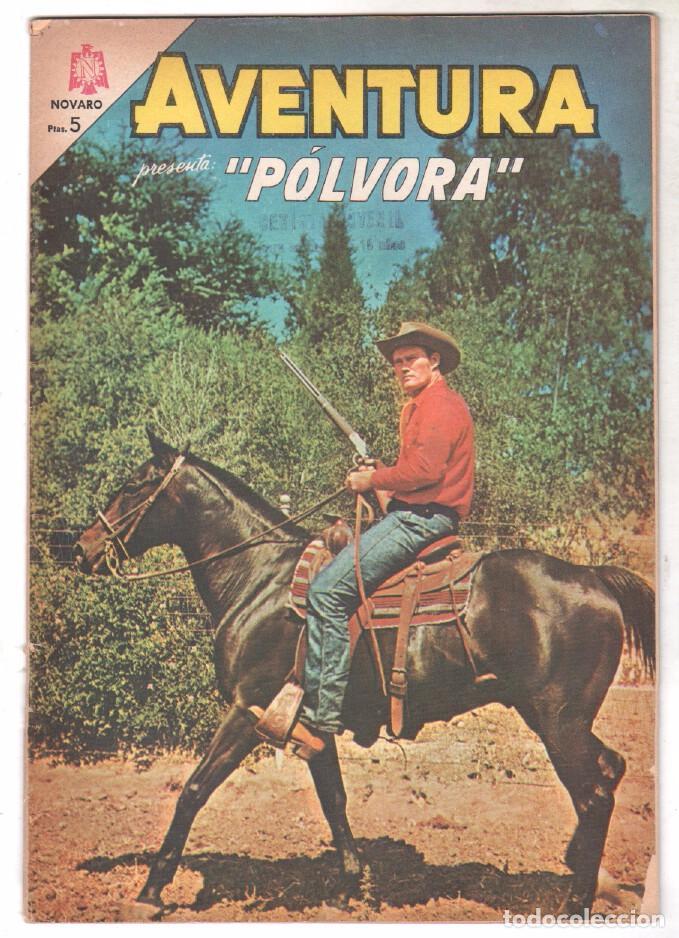 AVENTURA Nº 368 - NOVARO 1965 - PÓLVORA (Tebeos y Comics - Novaro - Aventura)