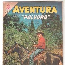 Tebeos: AVENTURA Nº 368 - NOVARO 1965 - PÓLVORA. Lote 67205361