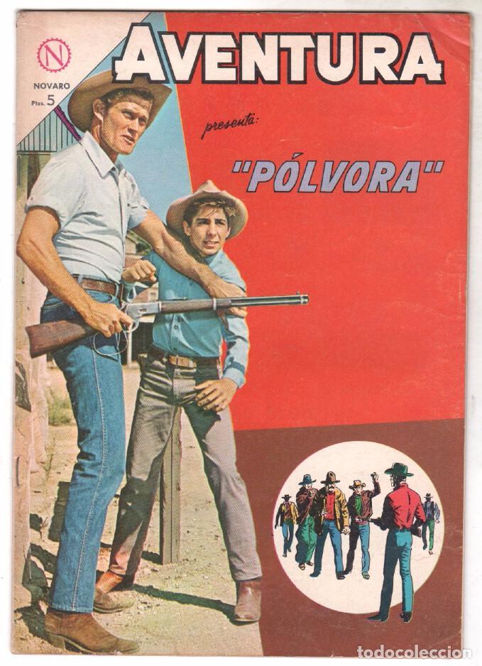 AVENTURA Nº 323 - NOVARO 1964 - PÓLVORA (Tebeos y Comics - Novaro - Aventura)