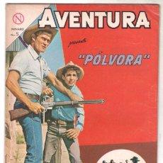 Tebeos: AVENTURA Nº 323 - NOVARO 1964 - PÓLVORA. Lote 67205493