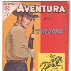Tebeos: AVENTURA Nº 309 - NOVARO 1963 - PÓLVORA . Lote 67205569