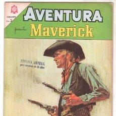 Tebeos: AVENTURA Nº 350 - NOVARO 1964 - MAVERICK. Lote 67205765