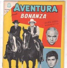 Tebeos: AVENTURA Nº 381 - NOVARO 1965 - BONANZA. Lote 67205829