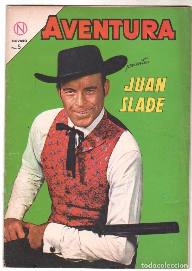 AVENTURA Nº 324 - NOVARO 1964 - JUAN SLADE (Tebeos y Comics - Novaro - Aventura)