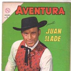 Tebeos: AVENTURA Nº 324 - NOVARO 1964 - JUAN SLADE. Lote 67205909