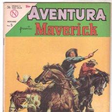 Tebeos: AVENTURA Nº 318 - NOVARO 1964 - MAVERICK. Lote 67205989