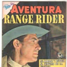 Tebeos: AVENTURA Nº 115 - SEA - NOVARO 1959 - RANGE RIDER. Lote 67206061