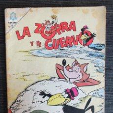 Tebeos: LA ZORRA Y EL CUERVO Nº 174 EDITORIAL NOVARO. Lote 68322873