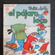 Tebeos: EL PAJARO LOCO Nº 252 , EDITORIAL NOVARO 1963. Lote 68326933