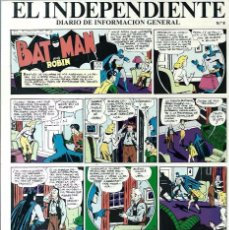 Tebeos: TIRA ADHESIVA Nº 8 DE EL INDEPENDIENTE - CON UNA PLANCHA DE BATMAN AND ROBIN - NUEVA. Lote 68409097