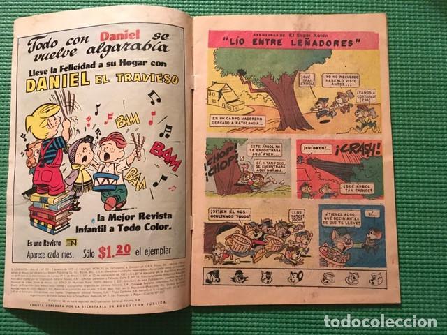 Tebeos: El Super Ratón 235 Novaro - Foto 4 - 68598097