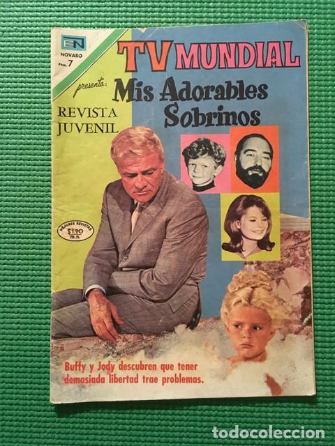 TV MUNDIAL MIS ADORABLES SOBRINOS Nº 204 (Tebeos y Comics - Novaro - Otros)