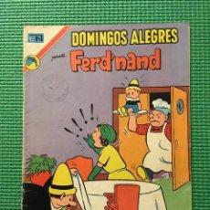 Tebeos: DOMINGOS ALEGRES FERD'NAND FERD NAND Nº 979 NOVARO. Lote 68599633