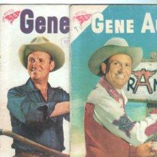 Tebeos: GENE AUTRY - NOVARO - SEA - NºS 49 Y 50 -AÑO 1958 - . Lote 68835557