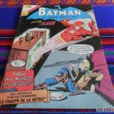 Tebeos: BATMAN Nº 653. NOVARO 1972. FLASH EN EL MUNDO DE LAS CARICATURAS. MUY BUEN ESTADO.. Lote 70211921