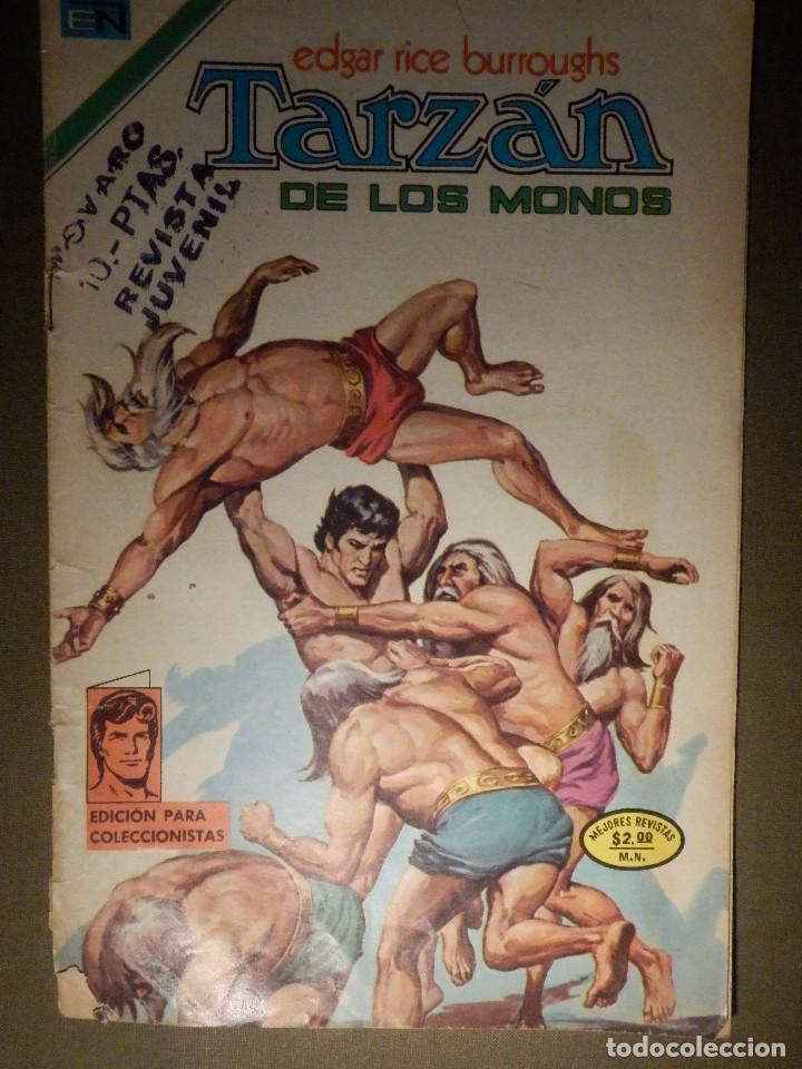 COMIC - TARZAN DE LOS MONOS - AÑO XXIV - Nº 384 - NOVARO - 1974 (Tebeos y Comics - Novaro - Tarzán)