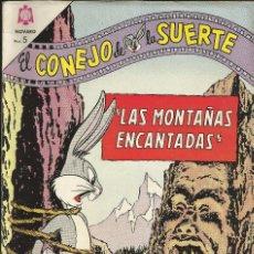 BDs: COMIC TEBEO, EL CONEJO DE LA SUERTE Nº 195, 1 JULIO 1964. Lote 71462507