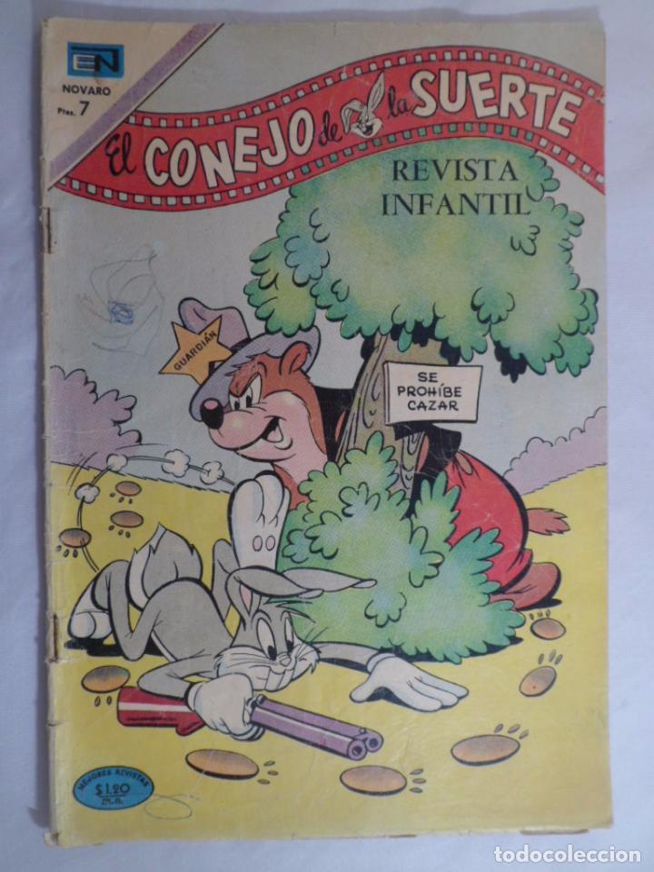 EL CONEJO DE LA SUERTE. NOVARO AÑO XX - Nº 332. 1970 (Tebeos y Comics - Novaro - Otros)