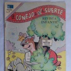 Tebeos: EL CONEJO DE LA SUERTE. NOVARO AÑO XX - Nº 332. 1970. Lote 71531759