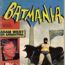 Tebeos: BATIMANIA 1996 ADAM WEST EN BUENOS AIRES TODO BATMAN SERIE. Lote 71630459