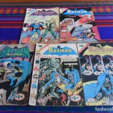 Tebeos: NOVARO BATMAN NºS 621 628 CAMPEONES DE LA JUSTICIA 629 653 FLASH 667 SUPERMAN REGALO BATICOMIC Nº 52. Lote 72765267