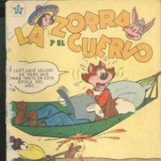 Tebeos: LA ZORRA Y EL CUERVO Nº 63. Lote 72916227