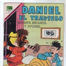 Tebeos: DANIEL EL TRAVIESO Nº 63 NOVARO 1969 - MUY BUENA CONSERVACIÓN. Lote 73055951