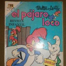 Tebeos: TEBEO - EL PÁJARO LOCO - AÑO XIX - Nº 313 - 1 DE ENERO DE 1969 - NOVARO -. Lote 73500983