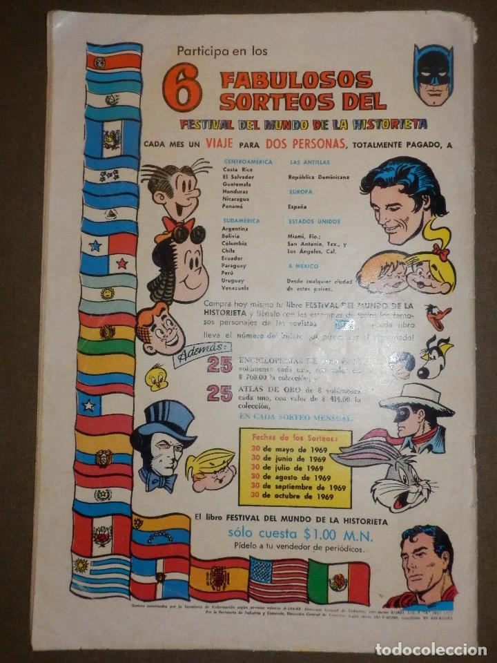 Tebeos: Tebeo - PORKY - Año XVIII - Nº 220 - 1 DE OCTUBRE DE 1969 - NOVARO - - Foto 2 - 73502271
