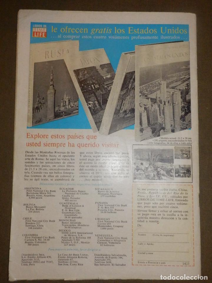 Tebeos: Tebeo - PORKY - Año - XIX- Nº 295 - 1 DE SEPTIEMBRE DE 1968 - NOVARO - - Foto 2 - 73505215