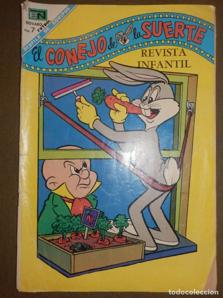 TEBEO - PORKY - AÑO - XIX- Nº 303 - 1 DE ENERO DE 1969 - NOVARO - (Tebeos y Comics - Novaro - El Conejo de la Suerte)