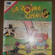 Tebeos: TEBEO - LA ZORRA Y EL CUERVO - AÑO - XXI- Nº 273 - 8 DE AGOSTO DE 1971 - NOVARO -. Lote 73507575