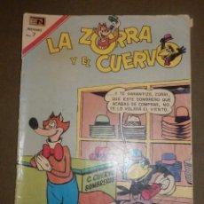 Tebeos: TEBEO - LA ZORRA Y EL CUERVO - AÑO - XX- Nº 244 - 10 DE JUNIO DE 1970 - NOVARO -. Lote 73507727