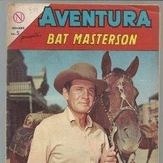 Tebeos: AVENTURA 322: BAT MASTERSON, 1964, NOVARO BUEN ESTADO.. Lote 74157971