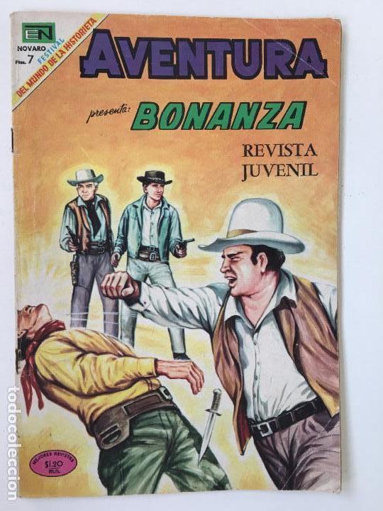 BONANZA- NOVARO- NUMERO 603- AÑO 1969 (Tebeos y Comics - Novaro - Aventura)